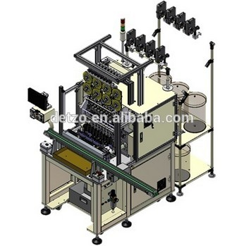 8 Spindles automatic coil winding / taping machine